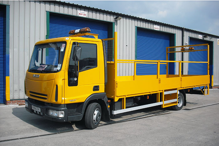 Iveco Eurocargo with Traffic Management bodywork