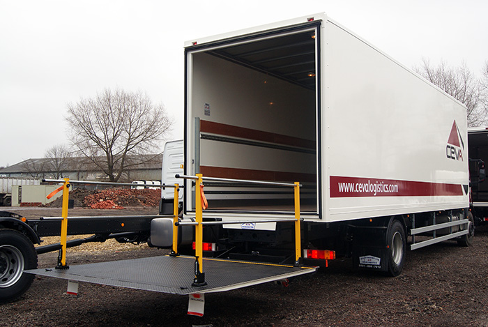 18 ton Box Van body